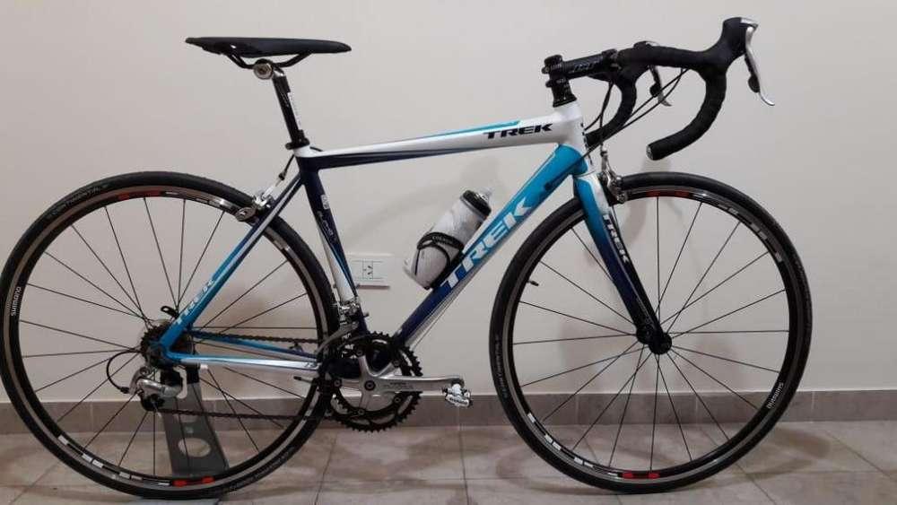 bicicleta de carrera trek alpha 1.9 talle 52cm.