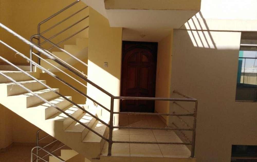 Departamento 3er piso, 2 Hab.