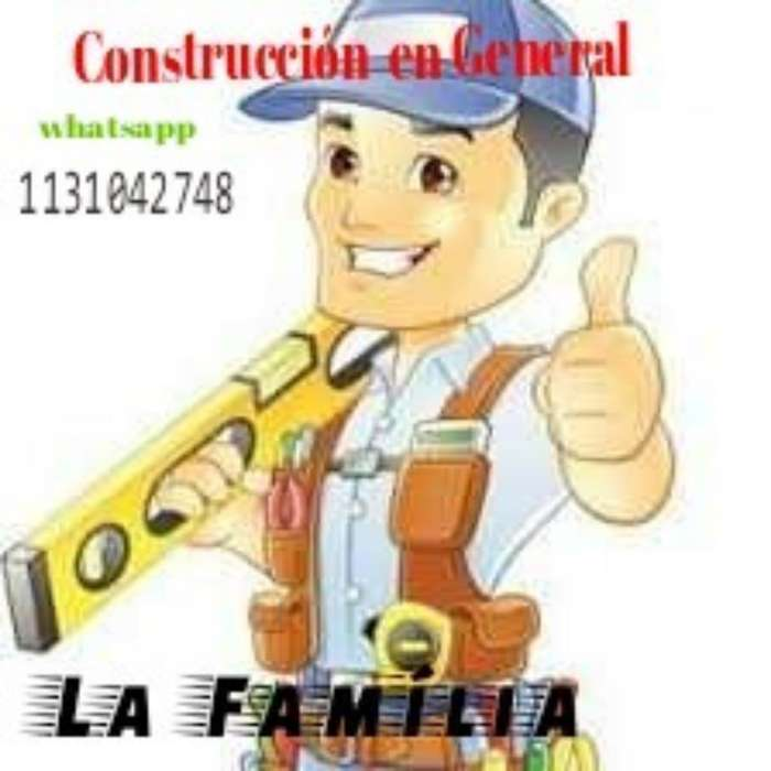 Trabajos de Albañilería .