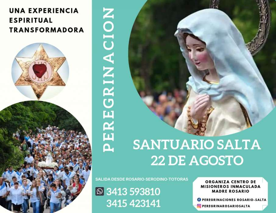 Virgen del cerro salta Mara livia