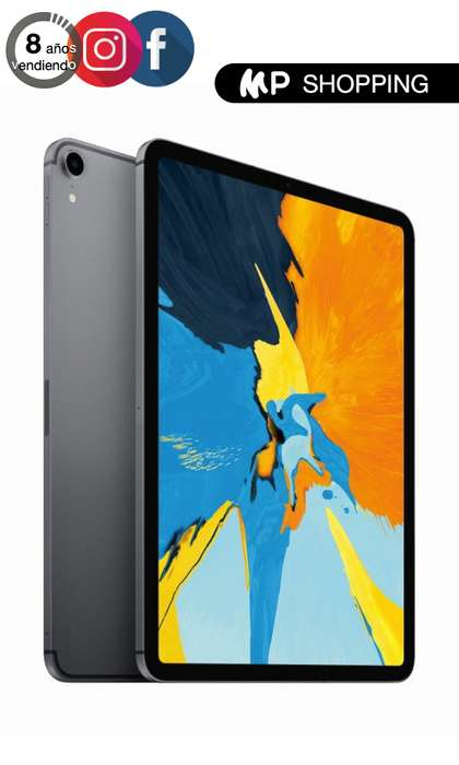 iPad Pro 11 64gb 2018 Garantia Internacional Apple Color Gris Espacial Space Gray iPad Pro 12.9