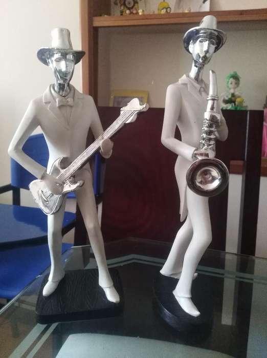 Muñecos Porcelana Músicos
