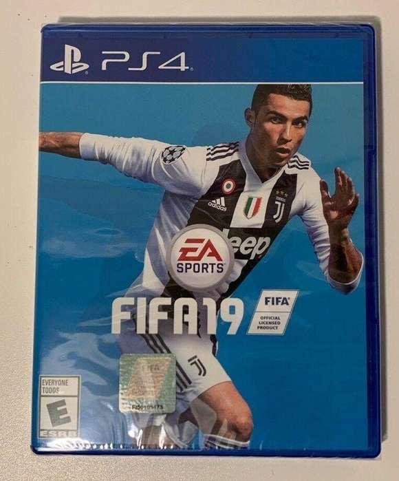 FIFA 19 PS4.