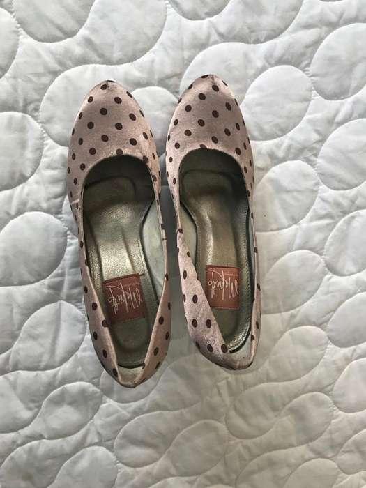 Zapatos de taco Makiatto talla 37 seminuevos