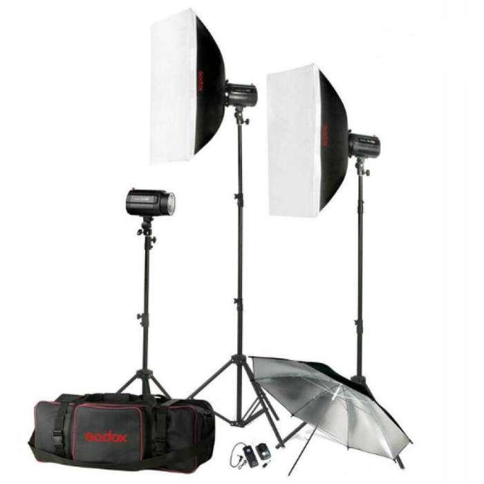 Juego De Luces Godox Para <strong>estudio</strong> - Mini Pioneer Kit