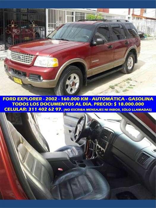 Ford Explorer 2002 - 160000 km