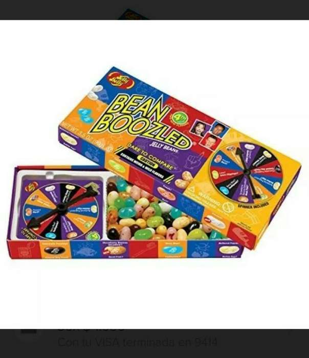 Jelly Belly Spiner Juego Dulces Ruleta