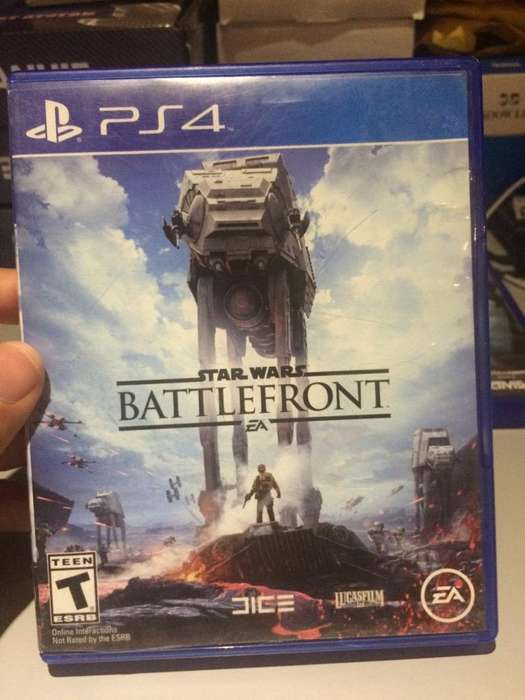 Battlefront 1 Ps4 Perfecto Estado