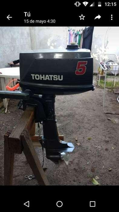 Vendo Tohatsu 5 Hp