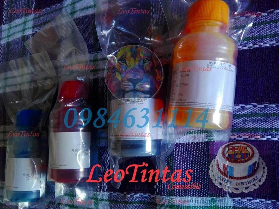 Tintas comestibles para las <strong>impresoras</strong> CANON EPSON O HP