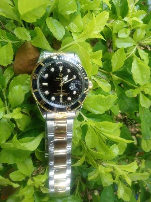Reloj Hombre Rolex Plata Dorado DTEMPORADA