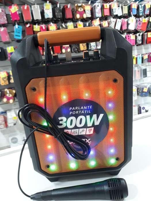Parlante <strong>karaoke</strong> 300w