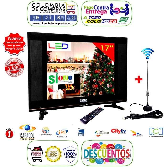 <strong>televisor</strong> Led Full Hd Con TDT 17, 19 o 22 Pulgadas, Monitor, Gtía 1 Año, Nuevos, Originales, Garantizados