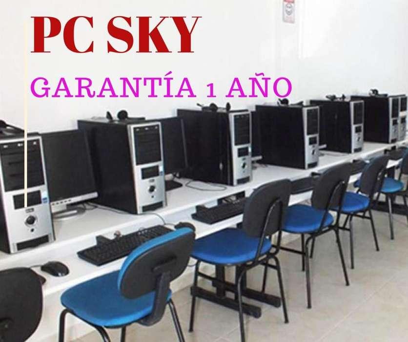 Ganga Lleva 5 Computadores Completos HP