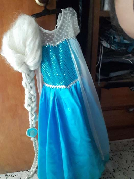 Disfraz de Elsa (frozen)