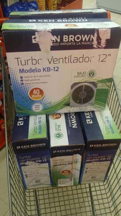 Vendo Ventilador Turbo