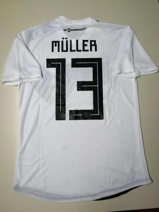Camiseta Alemania Muller Mundial