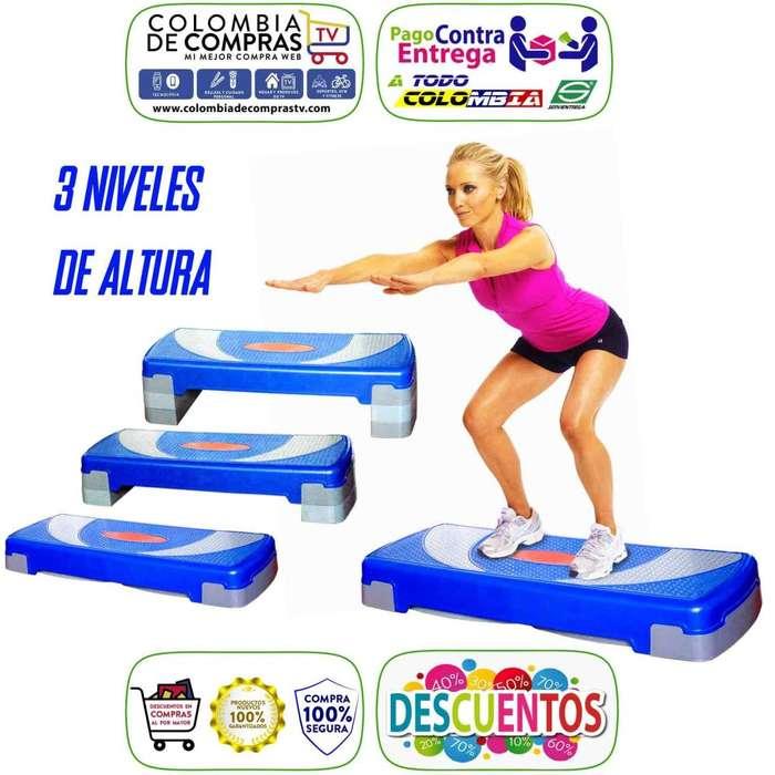 Plataforma Ejercicio Aeróbicos 3 Niveles altura Gimnasio Tonifica Fortalece, Nuevos, Originales, Garantizadas...
