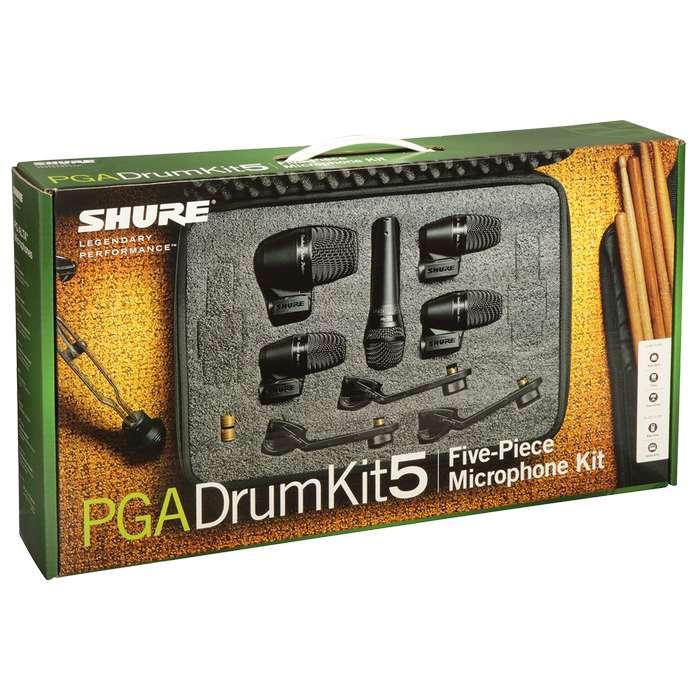 Microfonos Shure PGADRUMKIT7 bateria Set 7