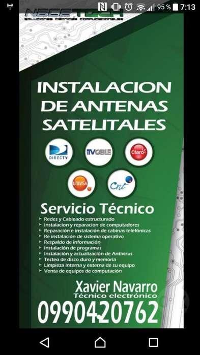 Instalaciones de Antenas Satelitales