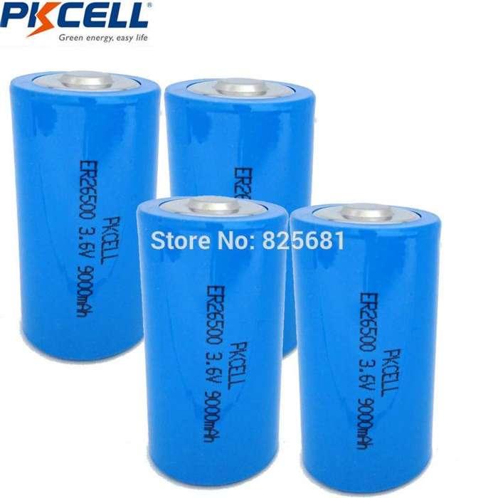 Batería 3.6v, 9000mah, Recargable - Er26500