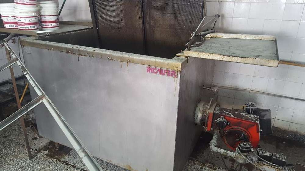 Freidora Batch Incalfer 300lts