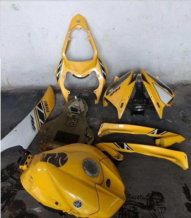 Yamaha R6 2007 Juego completo de plásticos