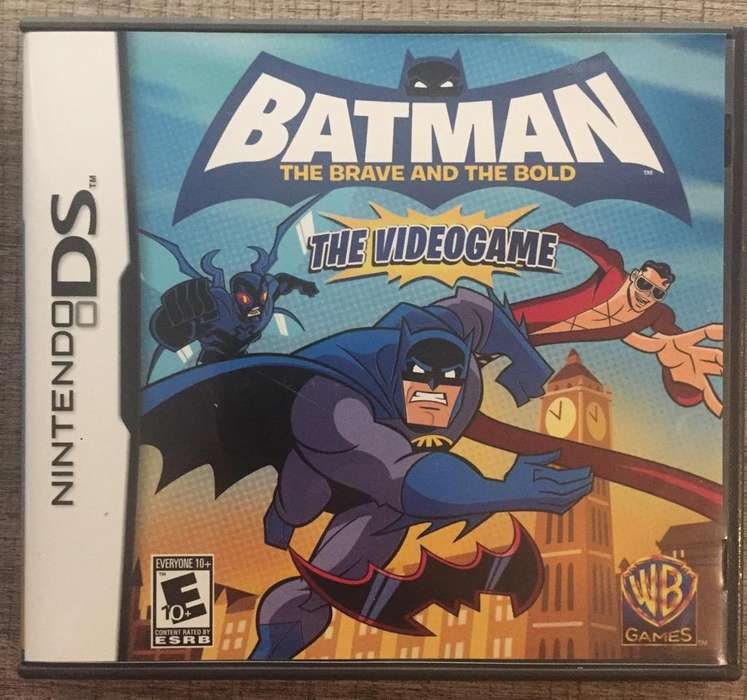 Juego Batman Brave & Bold Ds Y 3Ds