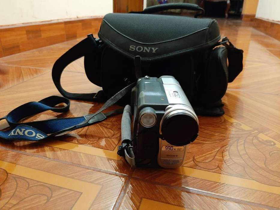 filmadora <strong>sony</strong> DCR-TRV260 tripode