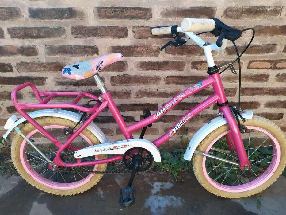 Bicicleta nia rodado 16 con rueditas