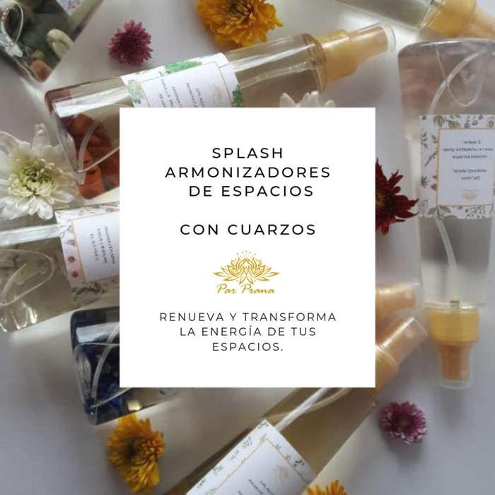 SPLASH CON CUARZO ARMONIZADORES DE ESPACIOS