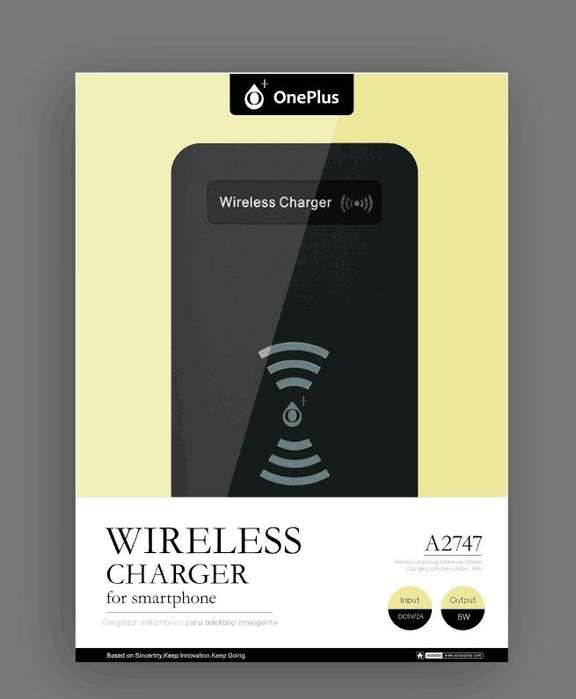 Cargador Inalambrico para celulares Oneplus A2747