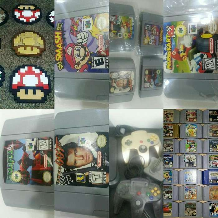 Games N64 Nintendo JUEGOS N64 OFERTAMOS RENTA ALQUILER
