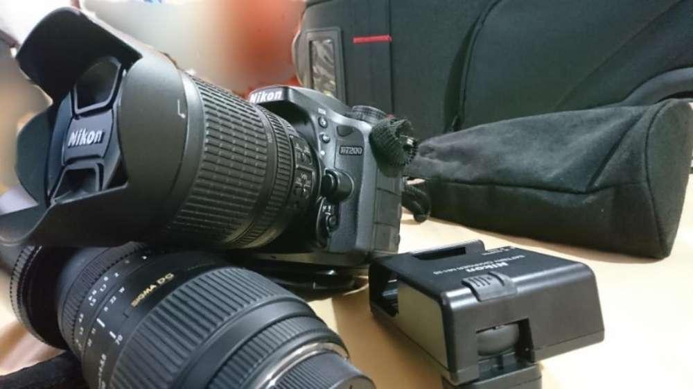 Camara Nikon D7200