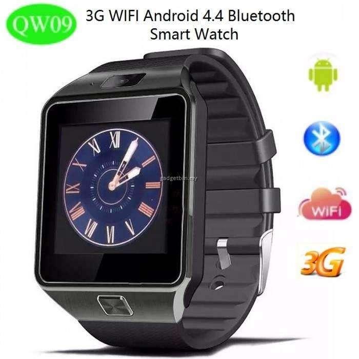 QW09 Smartwatch Con Wifi Bluetooth Cámara