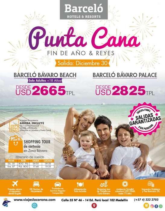 Viaje como un Rey a Punta Cana H.BARCELÓ BÁVARO BEACH con Viajes la Corona
