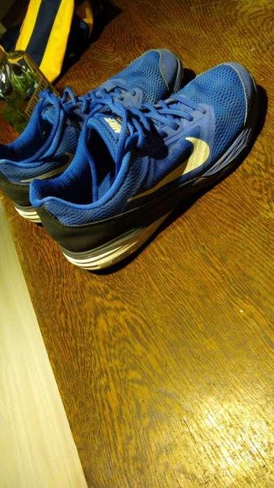 Zapatillas Nike Azules Talle 37,5