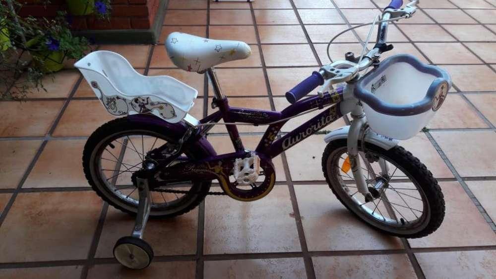 Vendo Bicicleta Aurorita Princesas