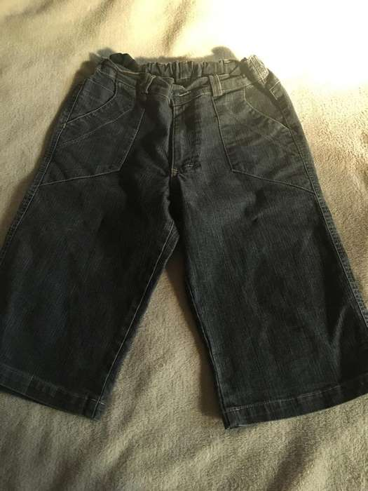Bermuda Jeans Bamboo Talle 12 Años