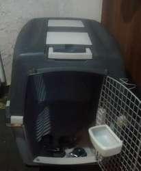Gulliver N°6 92x64x66 Transportador Canil Para Perros