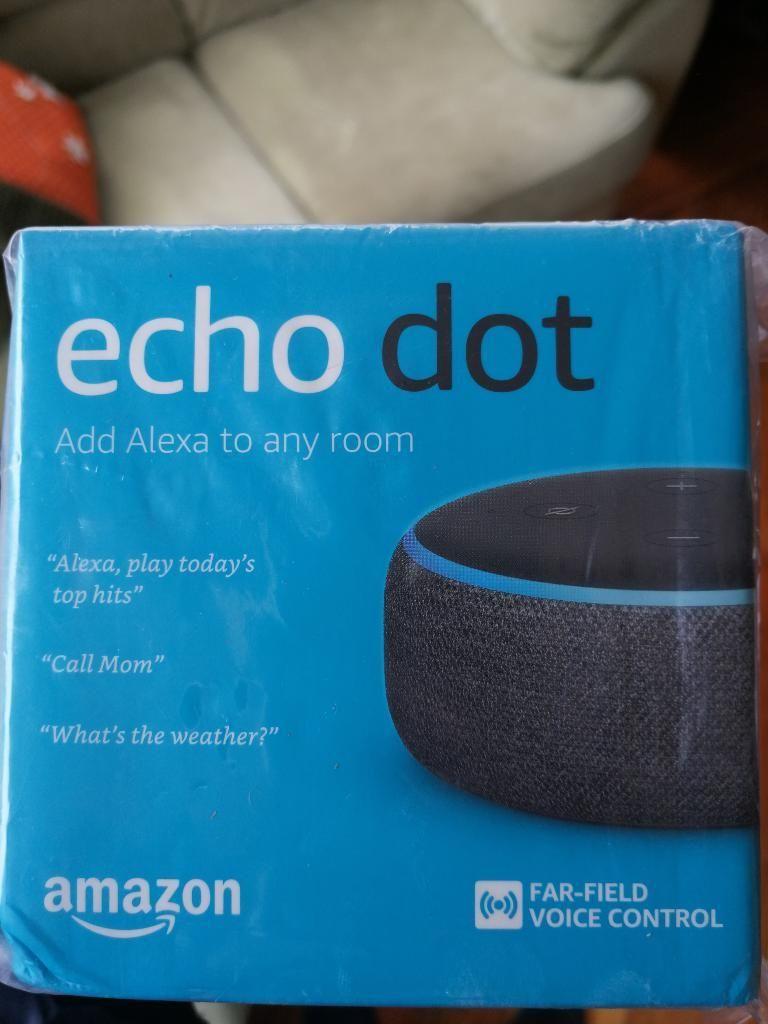 Parlante Inteligente Amazon Alexa Echo Dot Nuevo