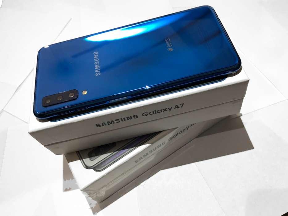 Samsung A7 Nuevos 64gb Mejor Que A50 A30