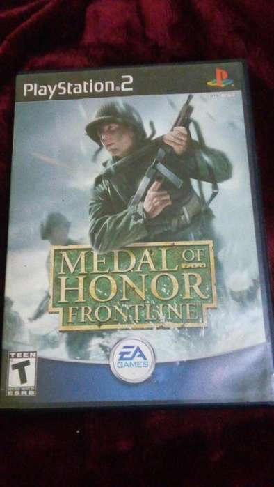 Medal Of Honor Frontline Play Station 2