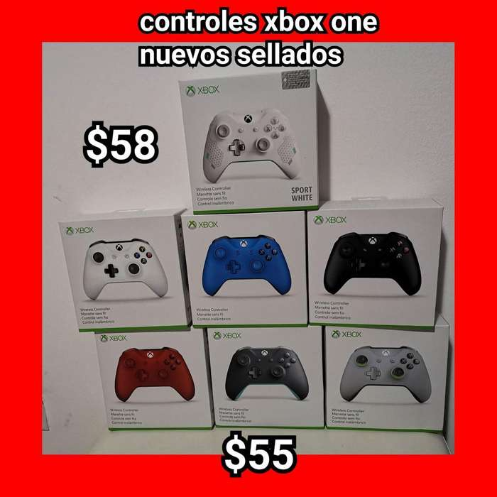 Controles Xbox One Nuevos Sellados