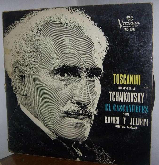 Disco De Vinilo L P Toscanini Interpreta A Tchailovsky