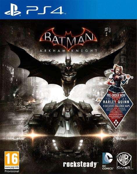 BATMAN ARKHAN NIGHT Ps4