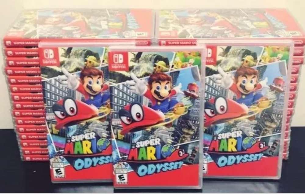 Mario odisseypara Nintendo switch