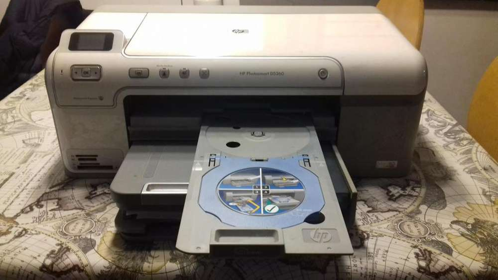 Impresora Hp Photosmart D5360