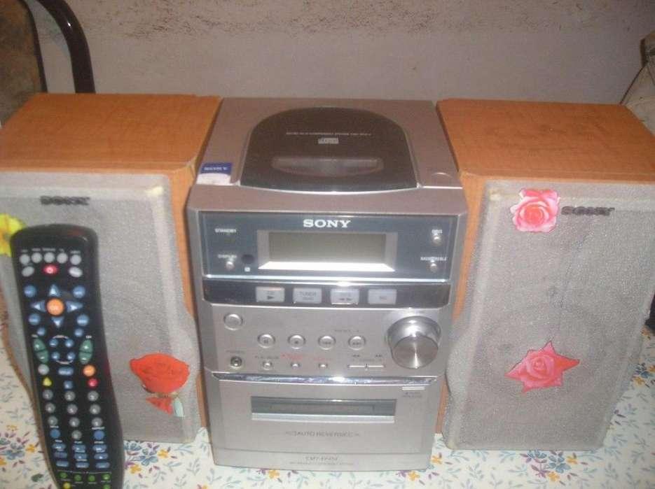 Microcomponente Sony Cmtep414 Ideal Para Tu Pc, Celu, Iphon