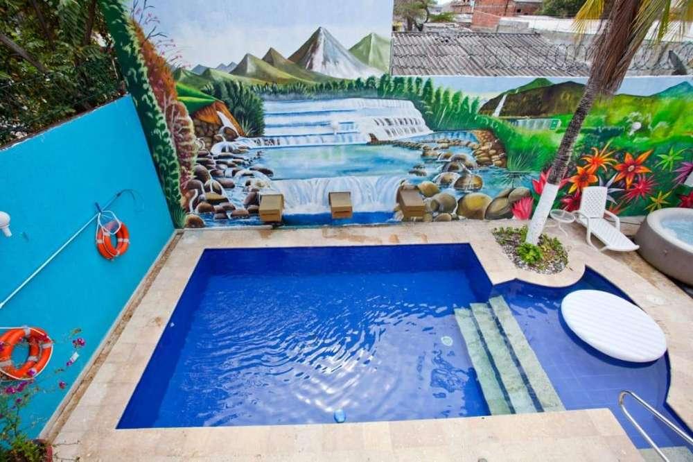 Casa Frente al mar por dias la Boquilla Cartagena - wasi_1360789